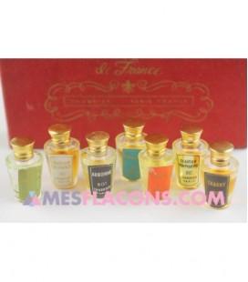 Coffret ancien - Les sept parfums de France