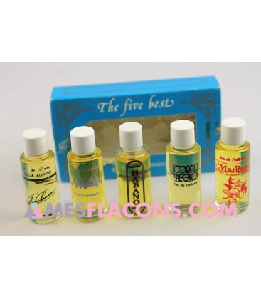 Coffret - The five best fragrances of Suchel