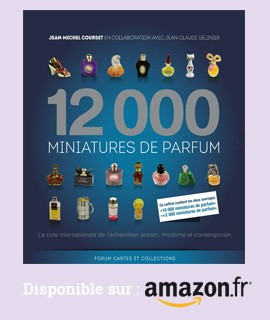 12.000 Miniatures de parfum disponible chez Amazon