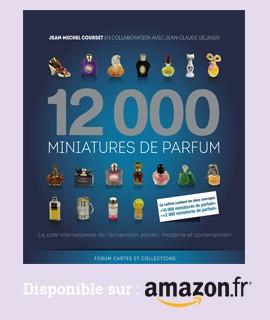 12.000 Miniatures de parfum disponible chez Amazon
