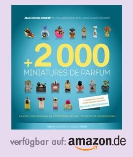 +2000 Parfümminiaturen bei Amazon.de erhältlich