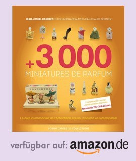 +3000 Parfümminiaturen bei Amazon.de erhältlich